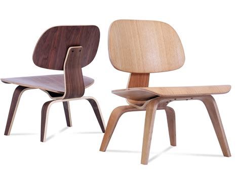 Vitra Eames Lounge Chair Replica by Eames Molded Plywood Lcw Chair Platinum Replica