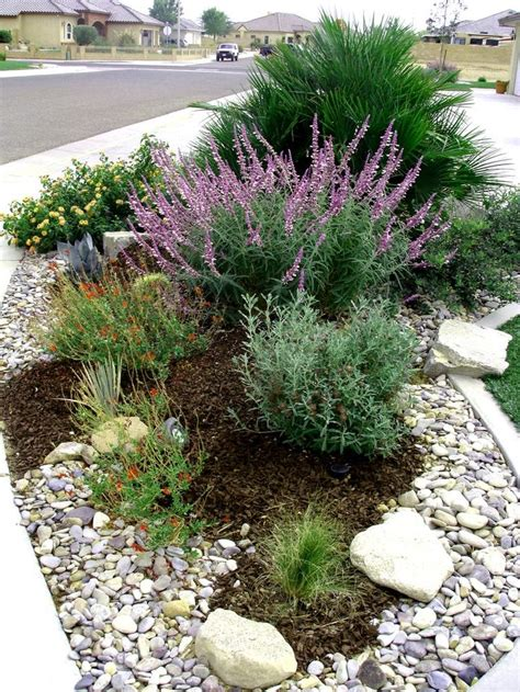 garden bed rocks best 25 river rock gardens ideas on garden
