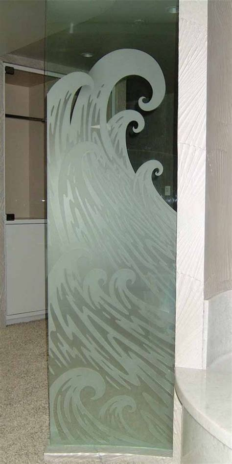 shower door frosting frosted glass shower panel sans soucie glass