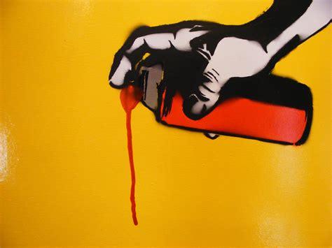 spray paint stencils spray paint can drip yellow and orange spray paint stencil