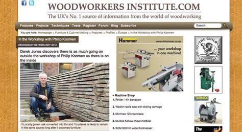 woodworkers institute news and media philip koomen