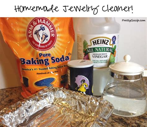 how to make jewelry cleaner for gold diy jewelry cleaner no scrubbing pretty gossip