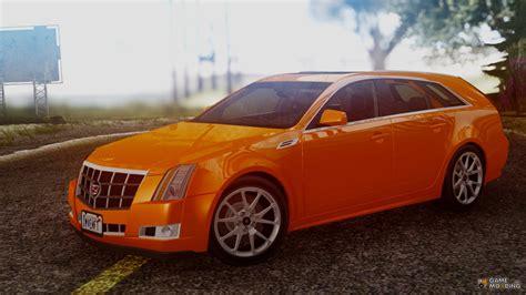 Cadillac Cts Sport by Cadillac Cts Sport Wagon 2010 For Gta San Andreas