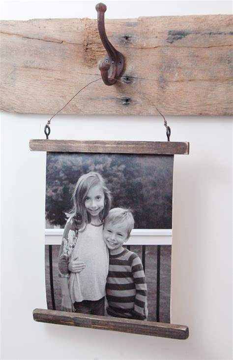 photo hanging wire how to make a rustic wire photo hanging house of