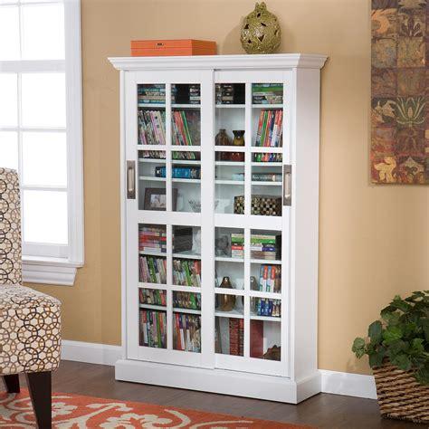 media storage cabinet with glass doors sliding door media cabinet white kitchen