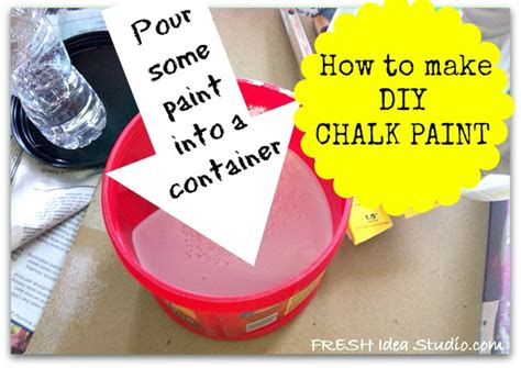 diy chalk paint consistency the secret paint recipe every diyer needs hometalk