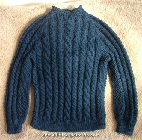 knit sweater pattern raglan sweater knitting pattern free patterns