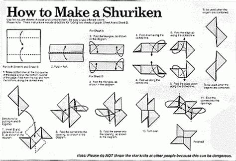 how to make origami throwing origami origami