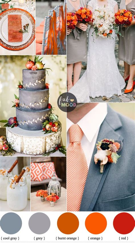 orange color theme 25 best ideas about november wedding colors on