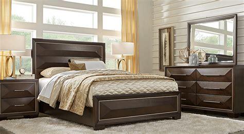 sofia the bedroom furniture sofia vergara cambrian court chocolate 5 pc king panel