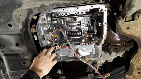 motor repair manual 2005 toyota camry transmission control check ball body and spring part location in automatic transmission u241e toyota camry youtube