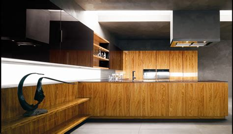 contemporary woodworking modern kitchen with luxury wooden and marble finishes
