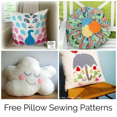 10 free pillow patterns to sew