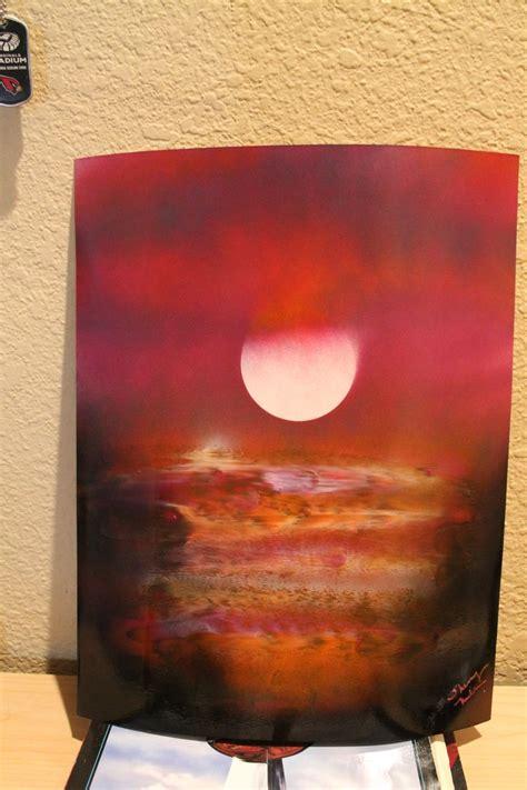 spray painting sky sunset angry sky spray paint spray paint by