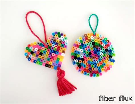 Perler Bead Ornaments 100 Images Perler Bead Ornaments