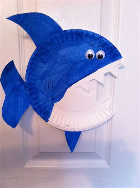 easy shark crafts for shark ideas that you can bite live and learn