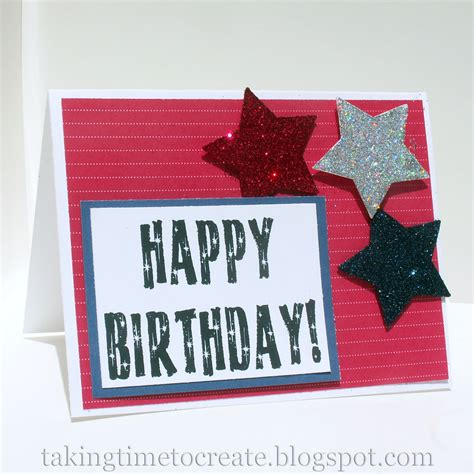 4th of july cards to make taking time to create a 4th of july birthday card