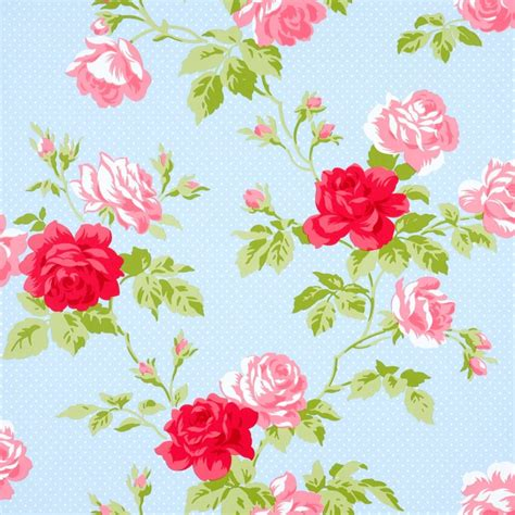 shabby chic wall paper seamless floral wallpapers floral patterns freecreatives