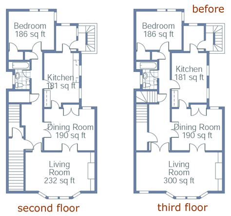 townhome floor plan townhouse transformed floor plans