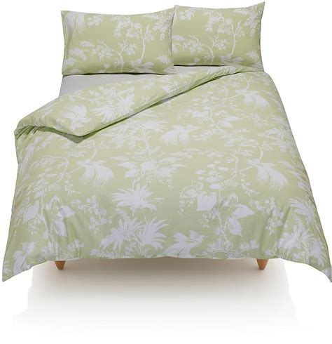 marks and spencers bedding sets marks and spencer bird print bedding set shopstyle co uk