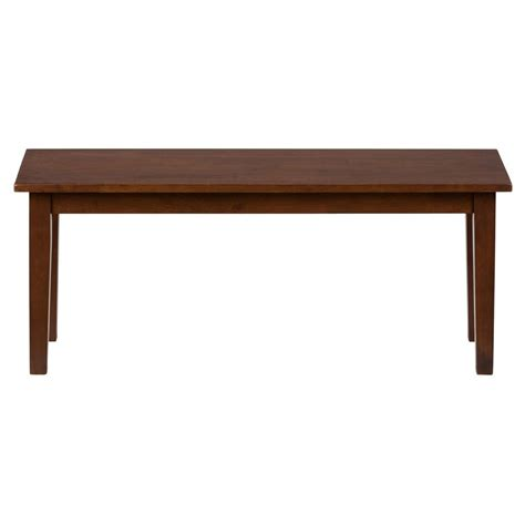 simplicity wooden dining room table bench 452 14kd