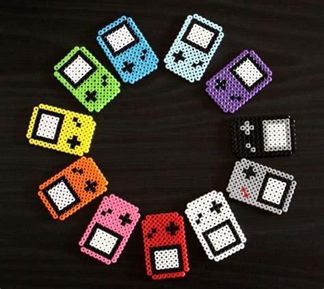 perler gameboy perler gameboy fridge magnets perler