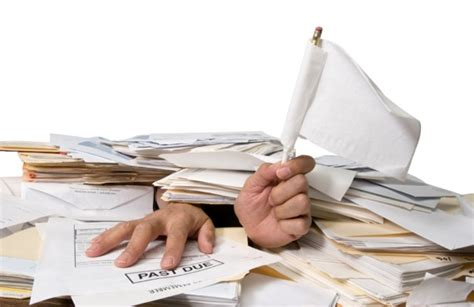 work with paper when you feel overwhelmed by your workload