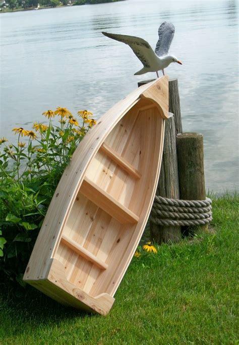 wooden yard decorations nautical wooden outdoor landscape all cedar boat garden