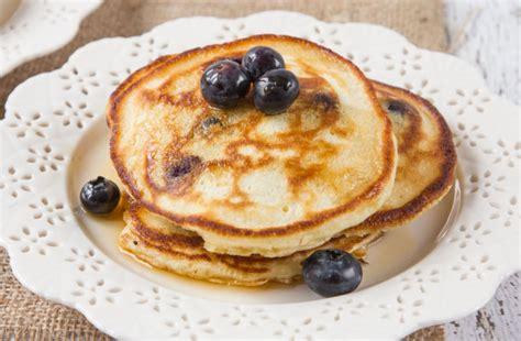 recipe blueberry pancakes blueberry blueberry sour pancakes recipe food