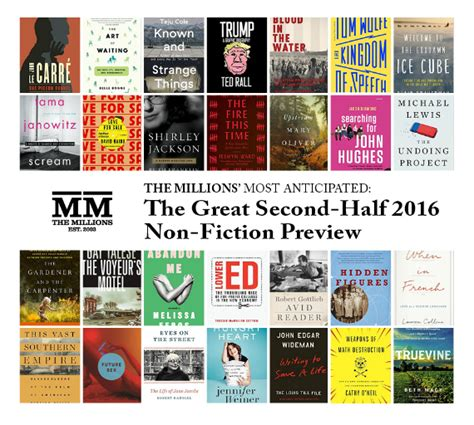 pictures of nonfiction books the millions most anticipated the great second