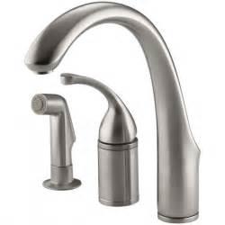 fix kitchen sink faucet new kohler single handle kitchen faucet repair best