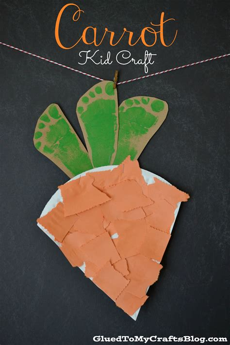 carrot craft for carrot kid craft a owl