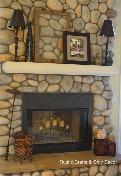 rustic craft projects rustic crafts fireplace