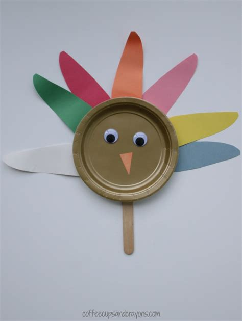 paper plate turkey craft paper plate turkey craft coffee cups and crayons