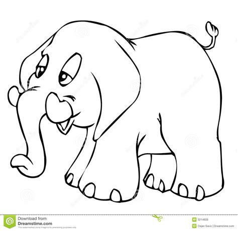 little elephant stock illustration image of elephant