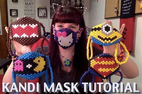 how to make a bead mask how to make a kandi mask tutorial