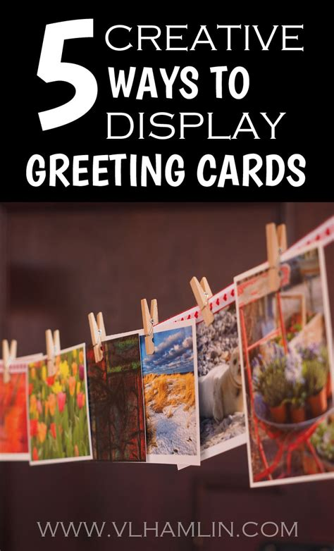 greeting cards at home 5 creative ways to display greeting cards food design