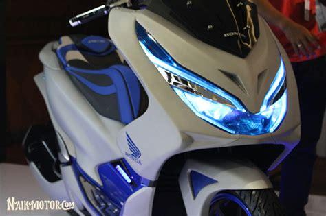 Pcx 2018 Stang by Modifikasi Honda Pcx Futuristic Techno Besutan Zone
