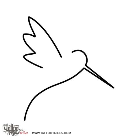tattoo of minimal hummingbird carpe diem tattoo custom