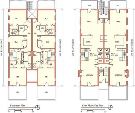2 floor building plan multi unit building plans house plans home designs