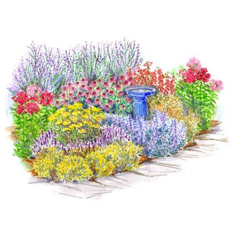 flower garden plans no fuss garden plans gardens backyards and deer