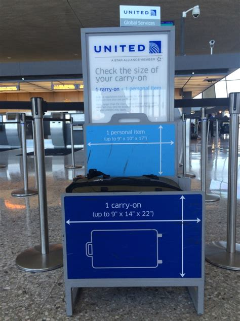 united airlines checked luggage checked baggage united if the suitcase fits read the article