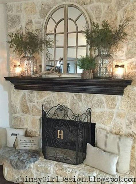fireplace decorations for best 25 fireplace decor ideas on mantle
