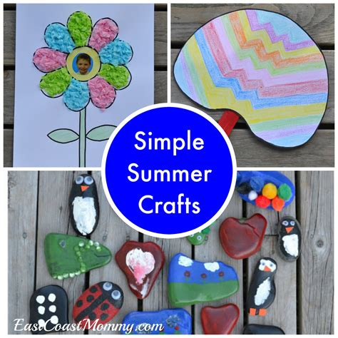 easy summer crafts for to make east coast august 2016
