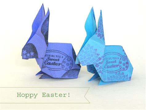 easter origami bunny origami easter bunny angie s studio