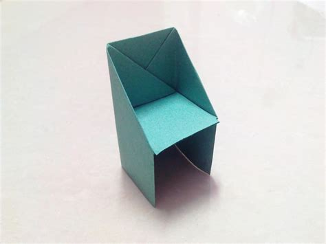 how to make an origami chair how to make an origami chair step by step