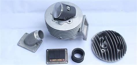 Modifikasi Mesin Vespa Pts by Nih Paket Dongkrak Performa Vespa Pts Biar Jadi 135cc