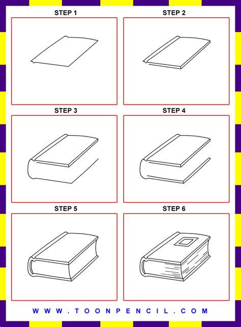 how to draw book how to draw a book step by step for search