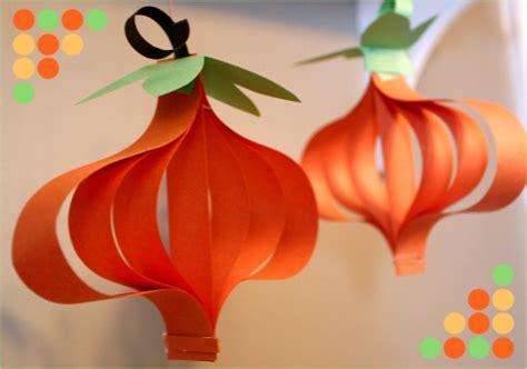construction paper pumpkin crafts crafts and recipe s