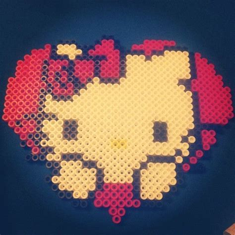 melting perler 18 best projects to try images on graph paper